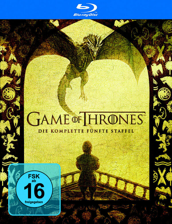 Game Of Thrones Staffel 5 Blu Ray Release