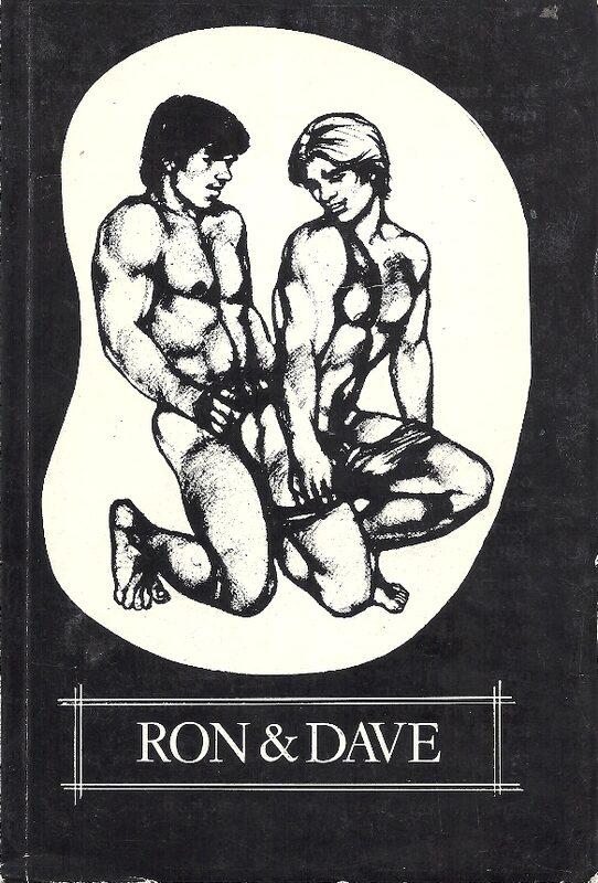 Ron & Dave Gay Buch / Magazin Bild