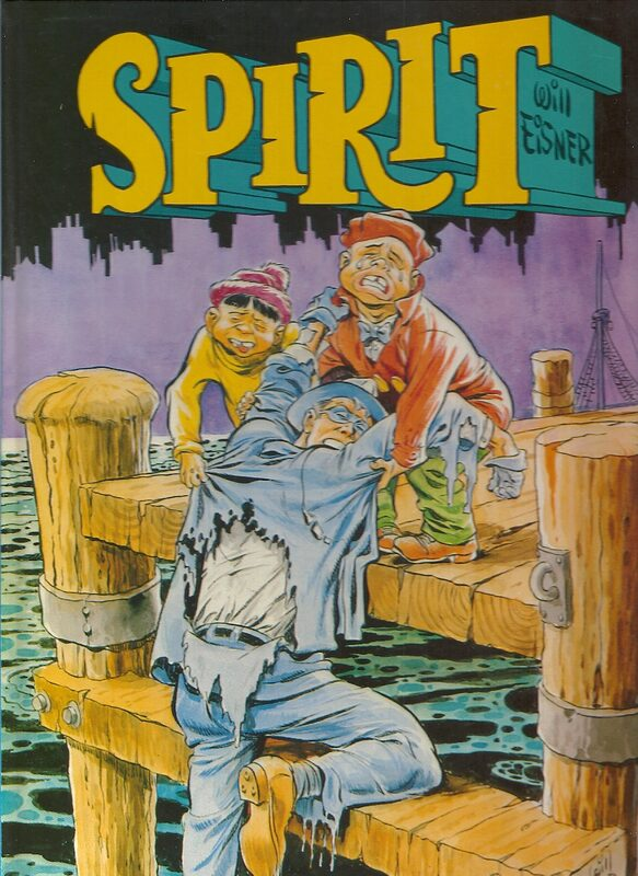 Spirit - Band 6 - Spirit's Assistenten Comic Bild