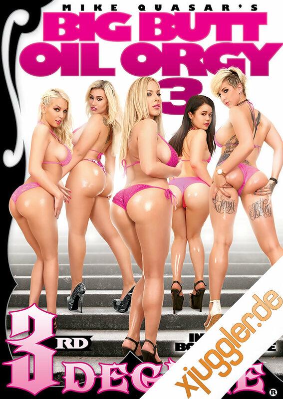 Big Butt Oil Orgy 3 DVD Bild