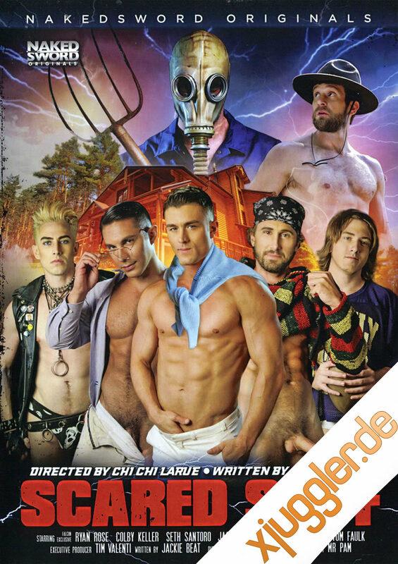 Scared Stiff Gay DVD Bild