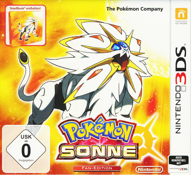 Pokémon Sonne + Steelbook Nintendo 3DS Bild