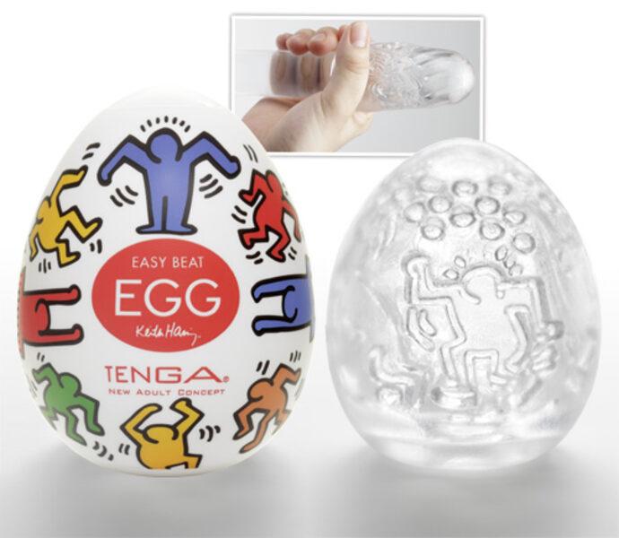 Keith Haring Egg Masturbator Gay Toys Bild