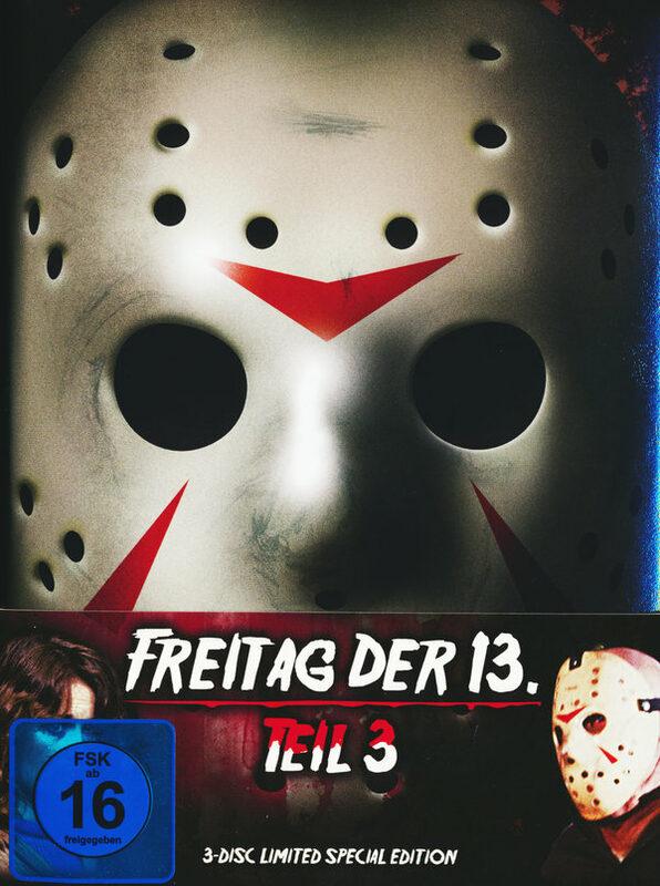 Freitag, der 13. - Teil 3 - Uncut/Mediabook Blu-ray Bild