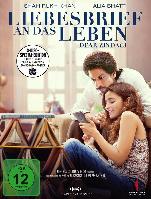 Liebesbrief an das Leben - Dear Zindagi (+ 2 DVDs) Blu-ray Bild