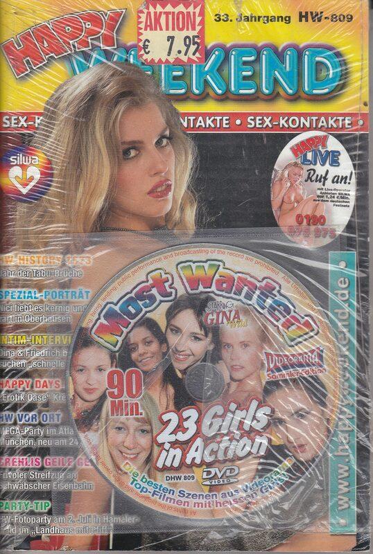 Happy Weekend Nr. 809 + DVD DVD-Magazin Bild