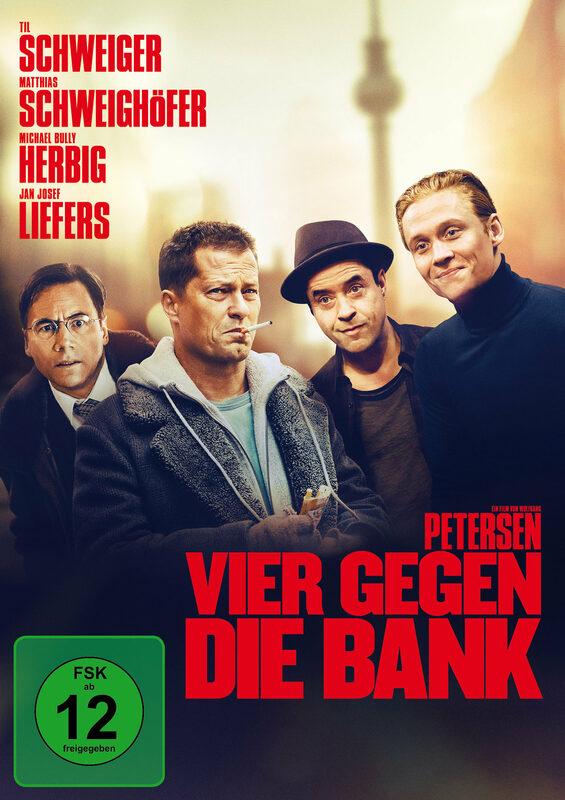 Vier gegen die Bank DVD Bild