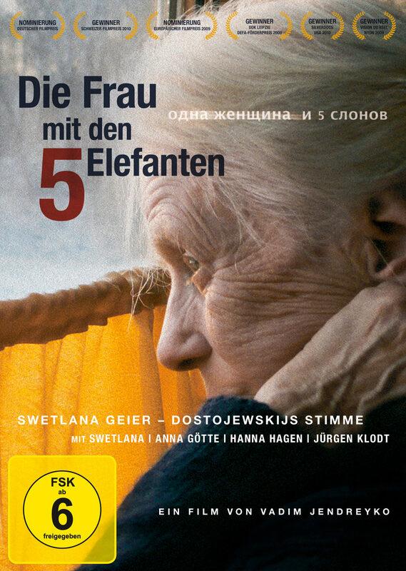 Die Frau mit den 5 Elefanten DVD Bild