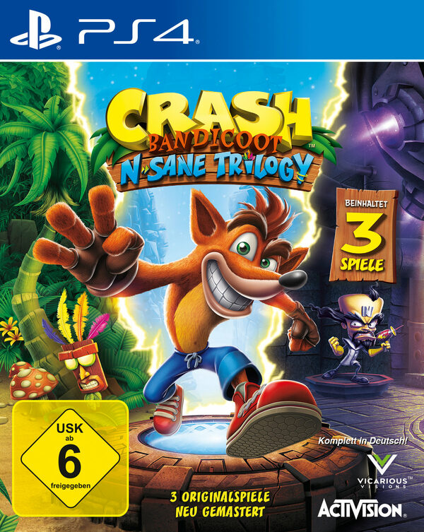 Crash Bandicoot - N.Sane Trilolgy Playstation 4 Bild