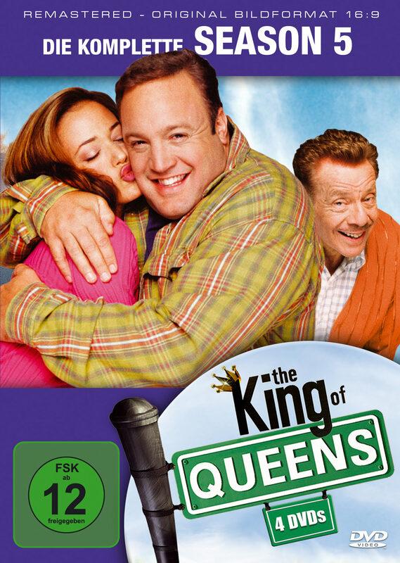 King of Queens - Season 5  [4 DVDs] DVD Bild