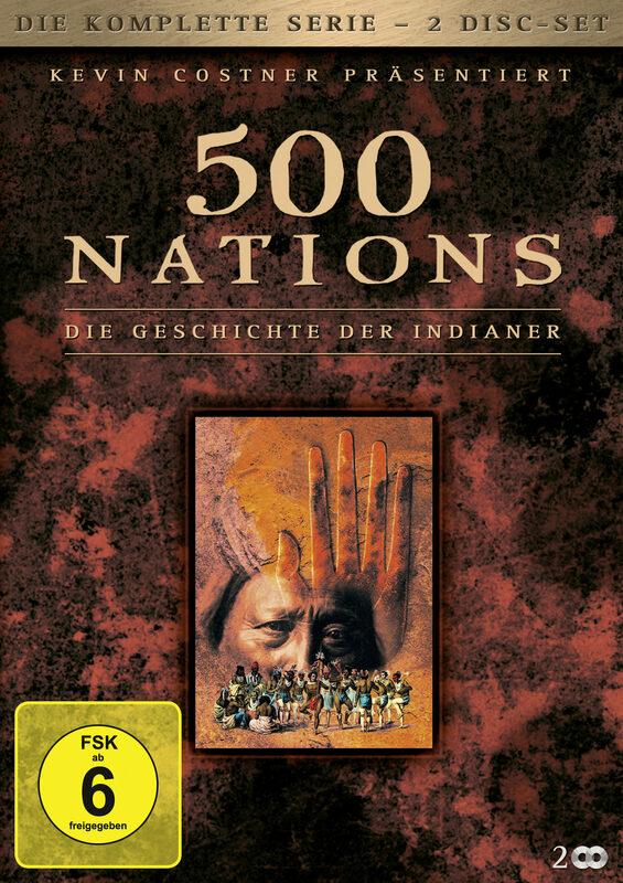 500 Nations - Die Geschichte der  [2 DVDs] DVD Bild