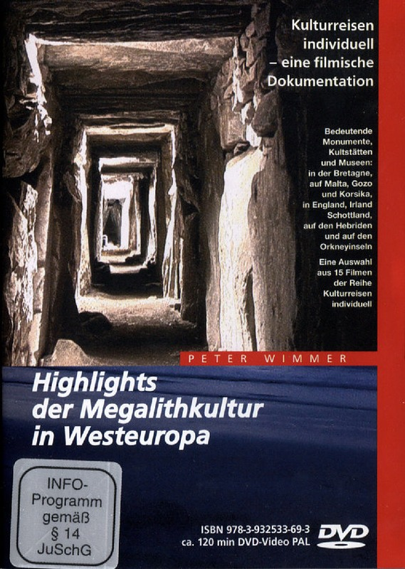 Highlights der Megalithkultur in Westeuropa DVD Bild