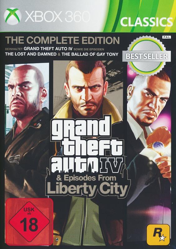 Grand Theft Auto IV - Complete Edition XBox 360 Bild