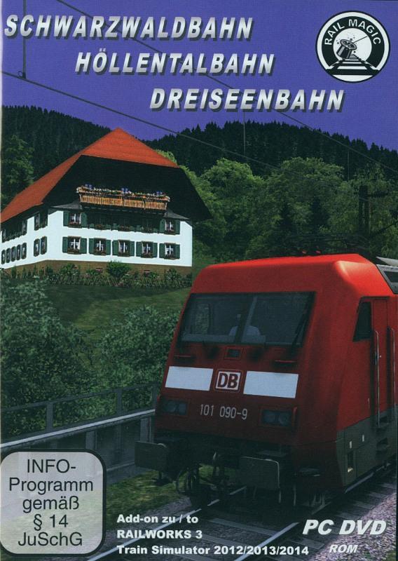 Schwarzwaldbahn, Höllentalbahn, Dreiseenbahn PC Bild