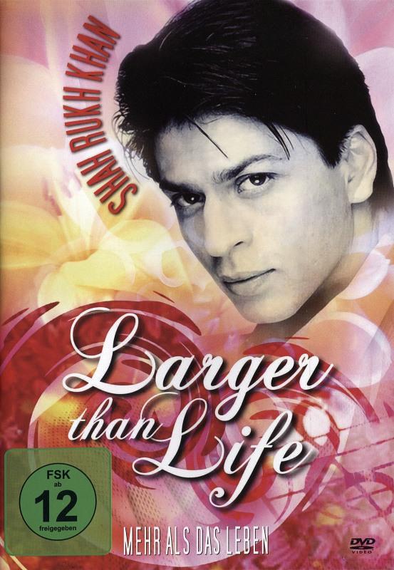 Shah Rukh Khan - Larger Than Life DVD Bild