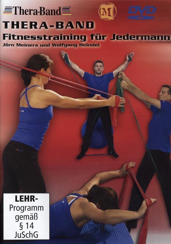 Thera-Band - Fitnesstraining für Jedermann DVD Bild