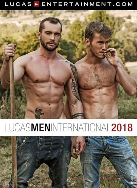 Lucasmen International 2018 - Wandkalender Gay Buch / Magazin Bild
