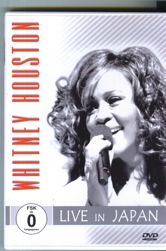 WHITNEY HOUSTON - Live in Japan DVD Bild