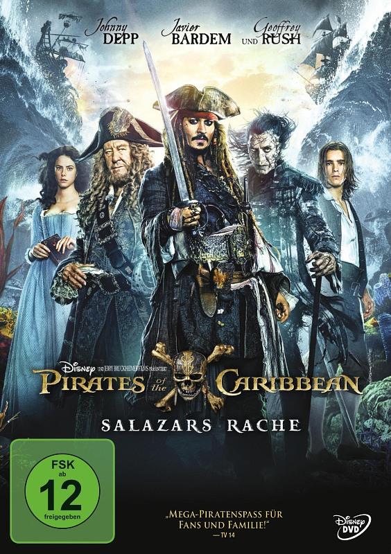 Pirates of the Caribbean 5 - Salazars Rache DVD Bild