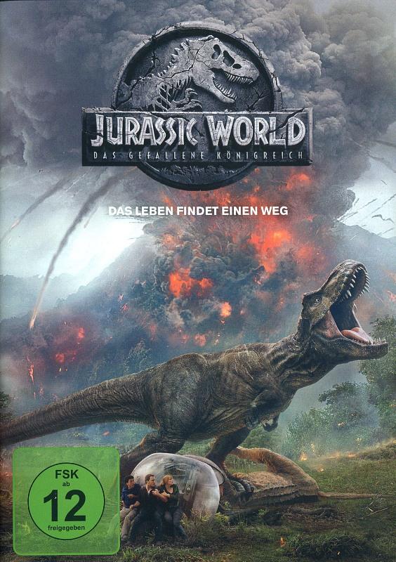 Jurassic World: Das gefallene Königreich DVD Bild