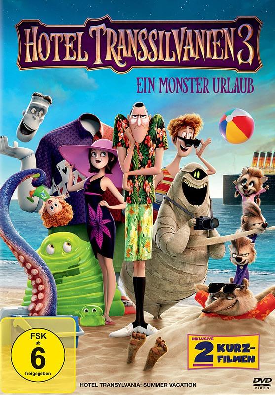 Hotel Transsilvanien 3 - Ein Monster Urlaub DVD Bild