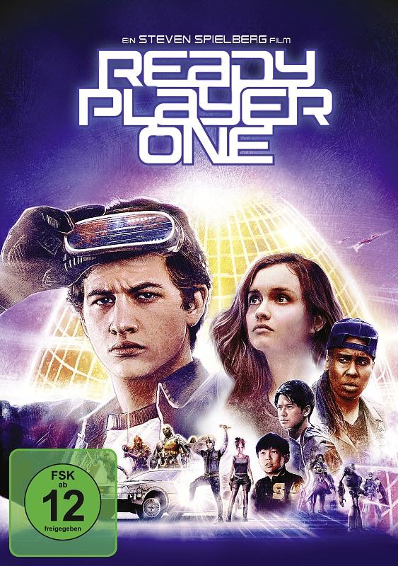 Ready Player One DVD Bild