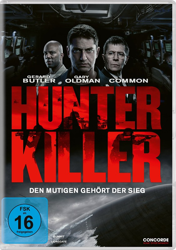Hunter Killer DVD Bild