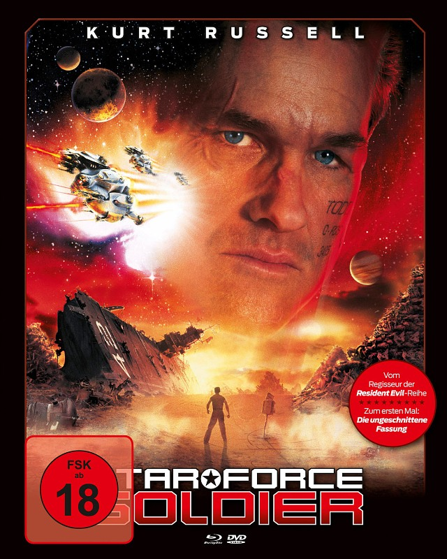 Star Force Soldier (+ DVD) (MB/Cover A) Blu-ray Bild