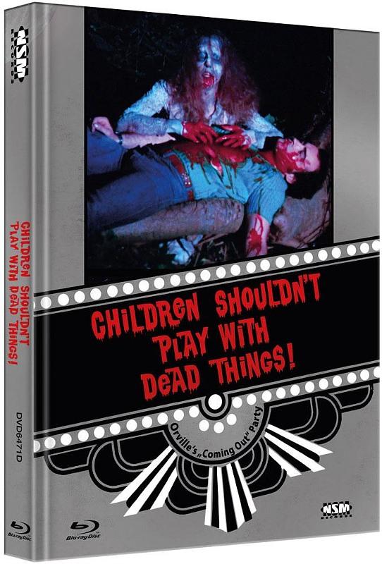 Children Shouldnt Play With DeadThings - 2-Disc Mediabook (Cover D) - limitiert auf 111 Stück Blu-ray Bild