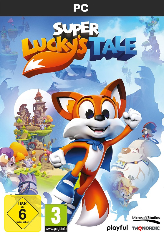 Super Lucky's Tale PC Bild