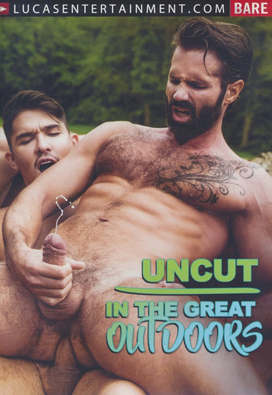 Uncut In The Great Outdoors Gay DVD Bild