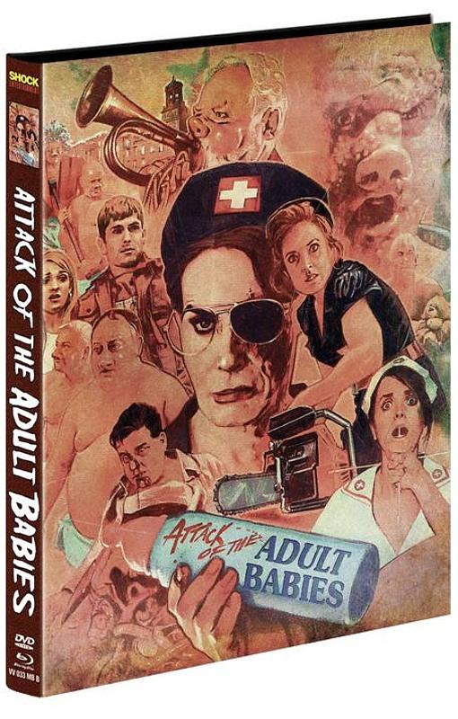 Attack of the adult Babies - Mediabook (Cover B) - limitiert auf 250 Stück Blu-ray Bild