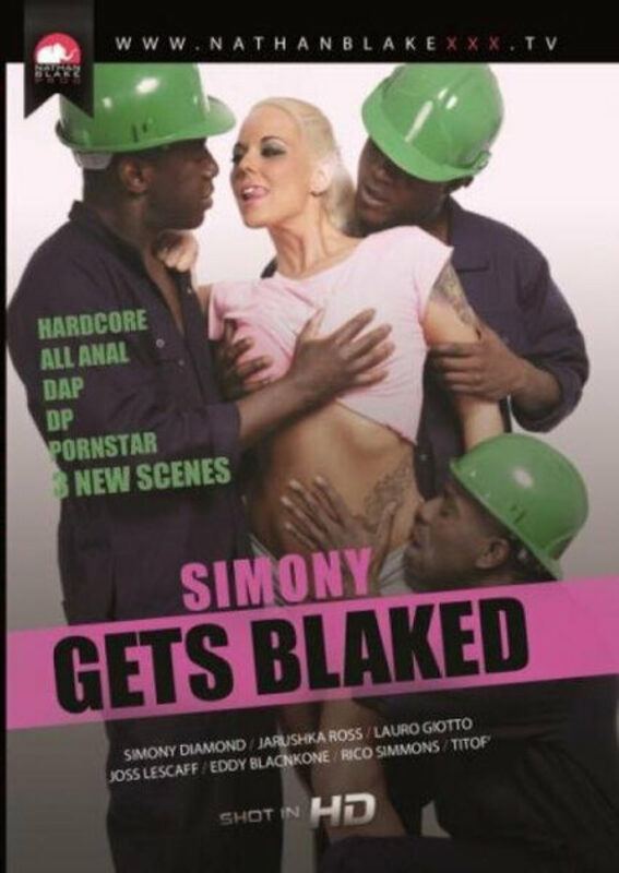 Simony gets blaked DVD Bild
