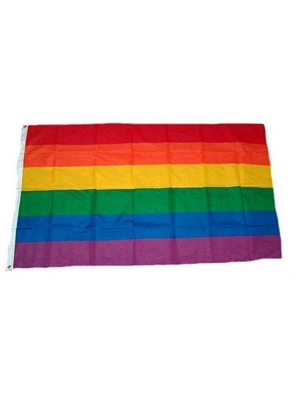 Gay Pride Rainbow Flag 60 x 90 cm Gay Buch / Magazin Bild