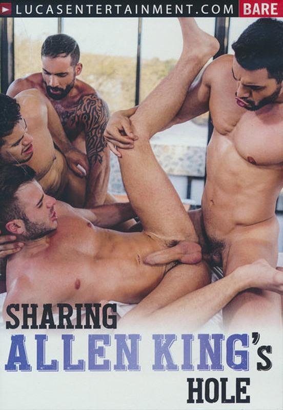 Sharing Allen King's Hole Gay DVD Bild