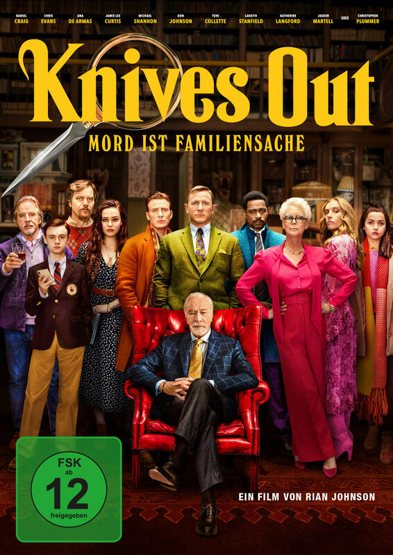 Knives Out - Mord ist Familiensache DVD Bild