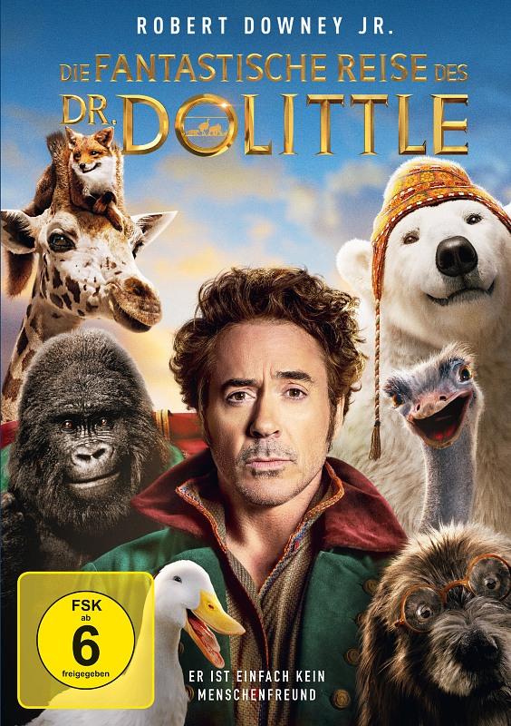 Die fantastische Reise des Dr. Dolittle DVD Bild
