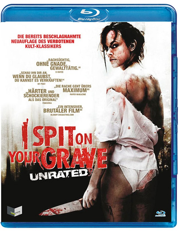 I Spit on your Grave - Unrated Blu-ray Bild