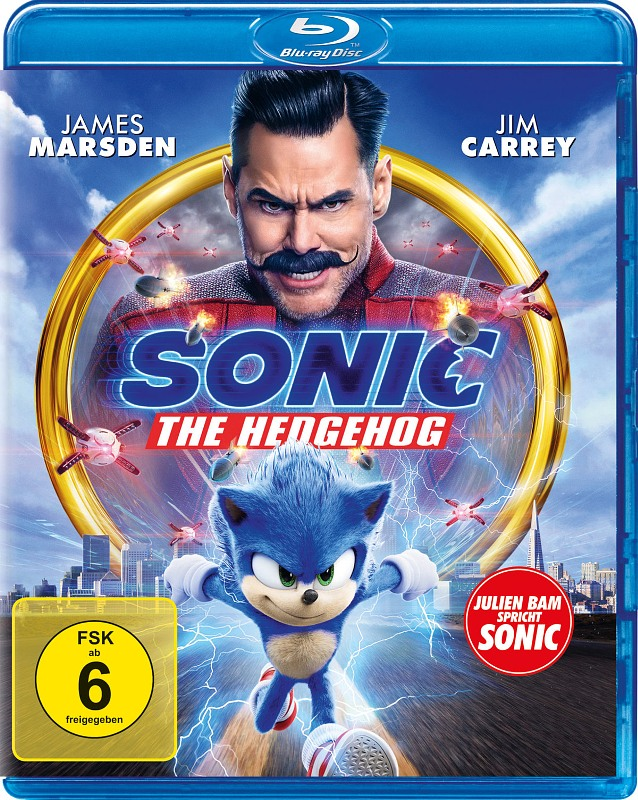 Sonic the Hedgehog Blu-ray Bild