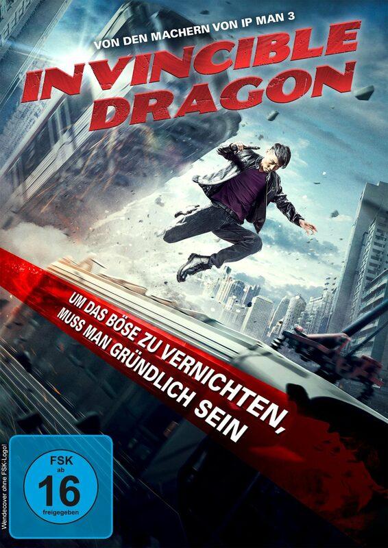 Invincible Dragon DVD Bild