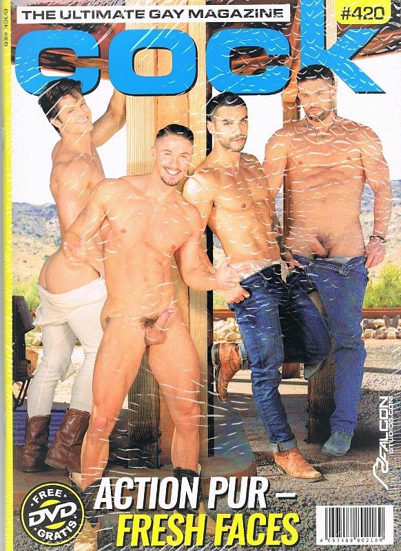 Cock #420 + DVD Gay Buch / Magazin Bild