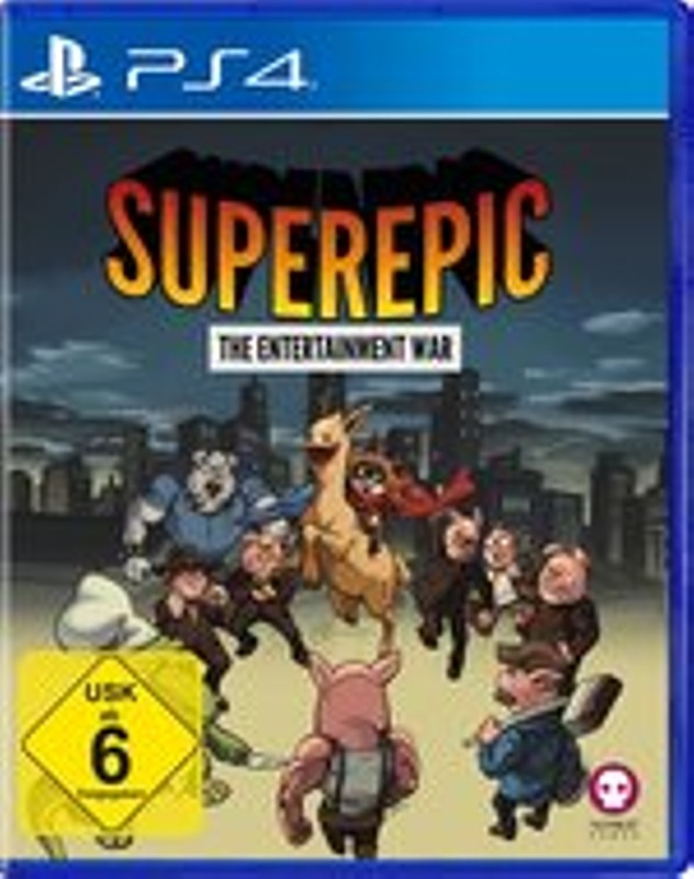 SuperEpic - The Entertainment War Playstation 4 Bild