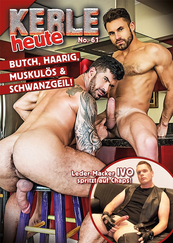 Kerle #61 Gay Buch / Magazin Bild