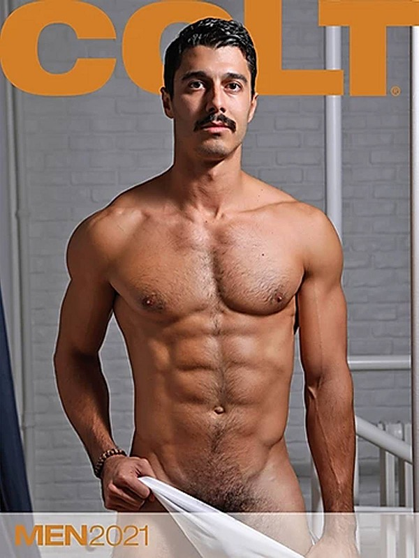 Colt Men 2021 - Wandkalender Gay Buch / Magazin Bild