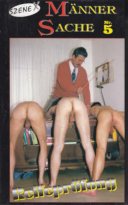 Männersache 05 Gay VHS-Video Bild