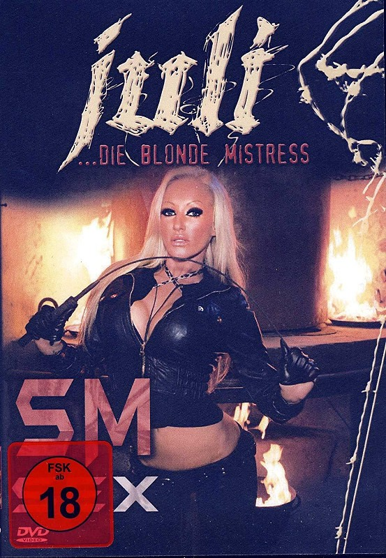 "SM SEX - ""juli"" Die blonde Mistress DVD Bild"
