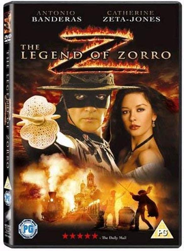 The Legend of Zorro UK DVD Bild
