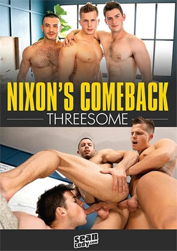 Nixon's Comeback Threesome Gay DVD Bild