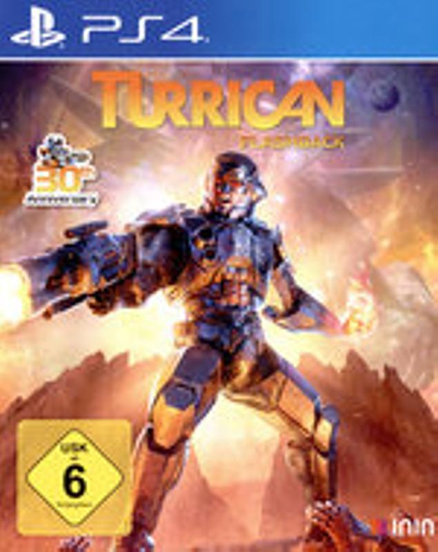 Turrican Flashback Playstation 4 Bild