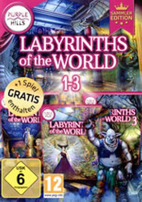 Labyrinths of the World 1-3 PC Bild